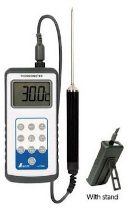 SHINWA Waterproof Digital Thermometer with Probe or Only Probe Type H-2 73081
