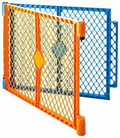 North States Industries Superyard Play Yard Colorplay 2 Panel Extension Kit, Ora on Sale