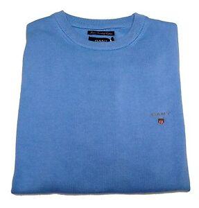 Sweater Neck Jumper Men Crew 100 Cotton Combed Super Logo Gant XwqrTtXA