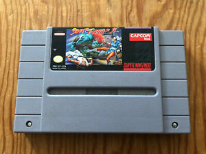 Street-Fighter-II-2-SNES-Super-Nintendo-Cartridge-Cart-Authentic-TESTED