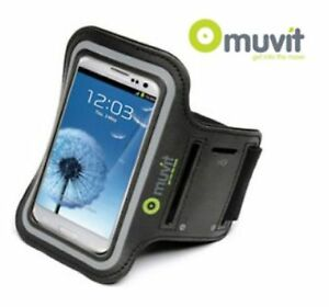 Details about Muvit Sports Armband Case for Samsung S3, S4 & Blackberry Z30  - Grey