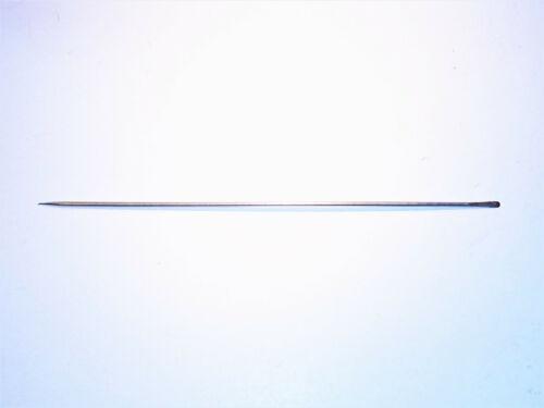 Ködernadel mit Hakenlöser Rostfrei 25 cm