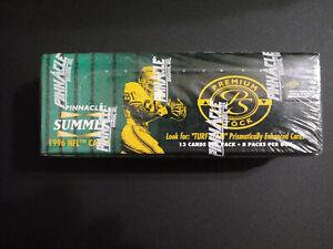 1996-Pinnacle-Summit-Premium-Stock-Football-Box-Factory-Sealed