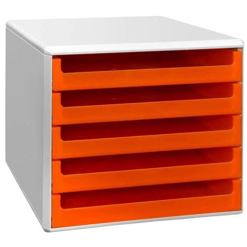 Schubladenbox 5 Schübe Ablagebox Briefablage Ablage BLITZVERSAND Briefablage NEU