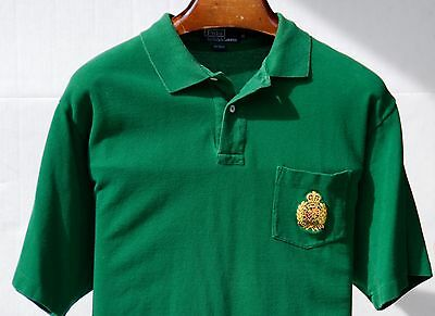 Polo by Ralph Lauren Gentleman's XL Forest Green 100% Cotton Polo Shirt - $85.00
