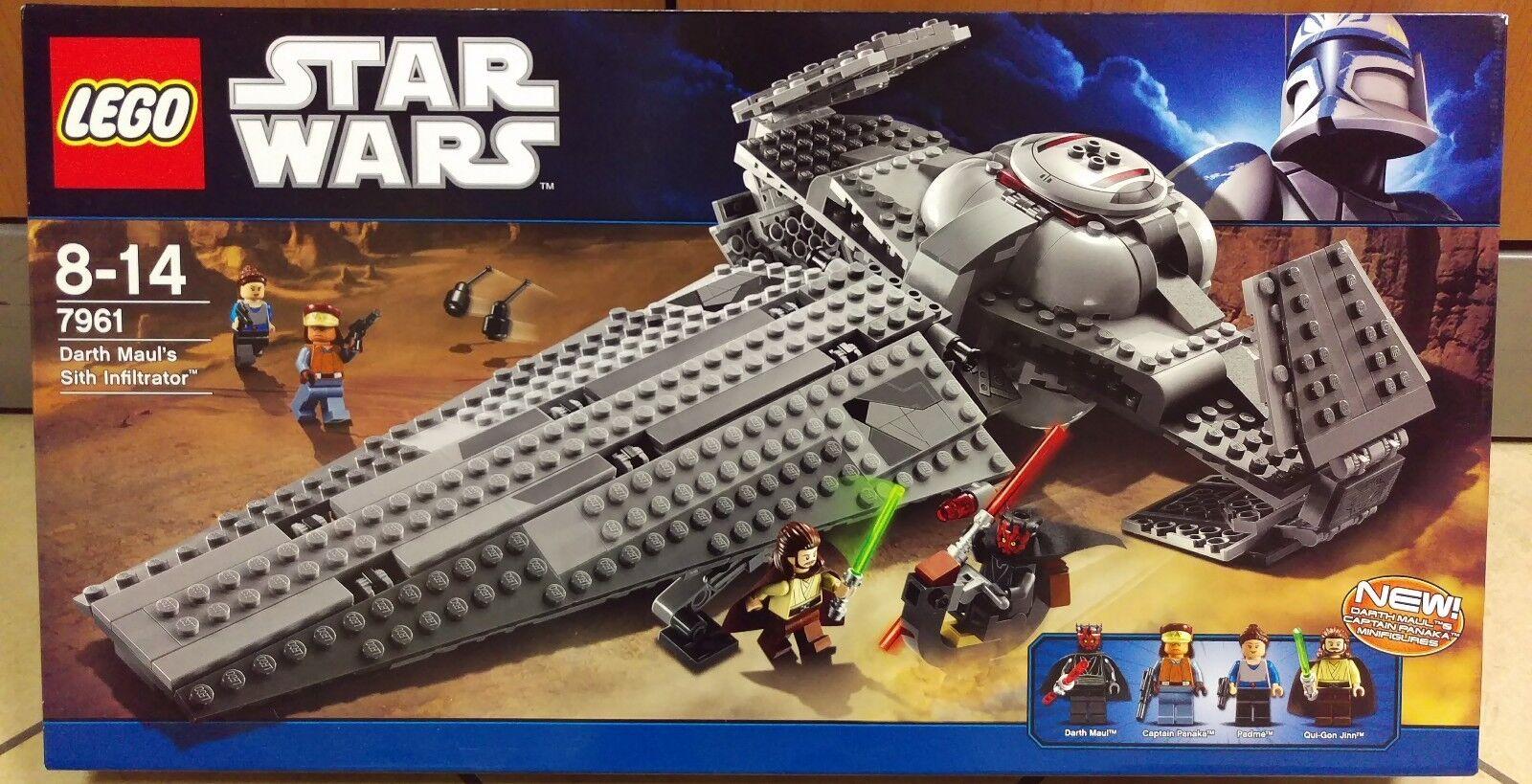 LEGO estrella guerras 7961  Darth Maul's Sith Infiltrator NUOVO SIGILLATO RARO - ed 2011  grande vendita