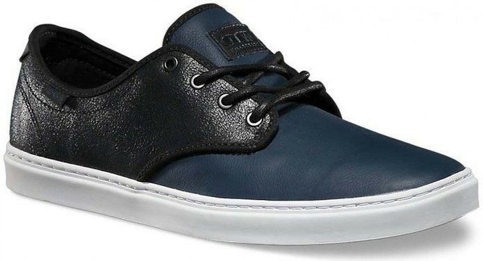 Vans Ludlow (Crackle) Dress Blues/White Skate Casual Classic MEN'S 7 WOMEN'S 8.5