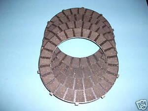 CLUTCH FRICTION PLATE X 4 TRIUMPH BSA TWINS