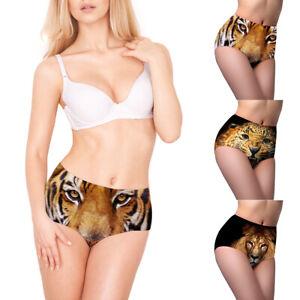 55158056417 Sexy Women s Funny 3D Animal Print Briefs Underwear Lingerie ...