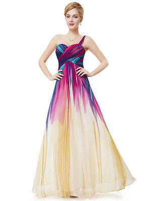 Ever Pretty Elegant Women's One Shoulder Long Party Prom Dress 08462 Size 08-18