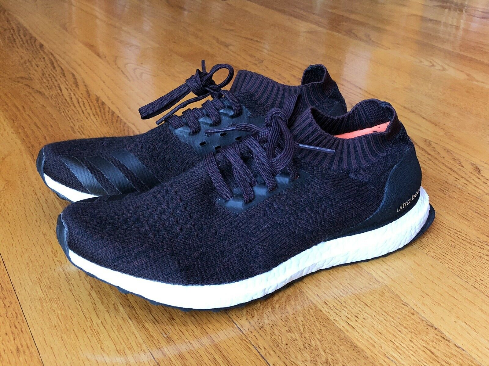 a3eb8b57db8 NEW Adidas Ultra Boost Uncaged Mens 9 Dark Burgundy BY2552 (Retail ) nmd