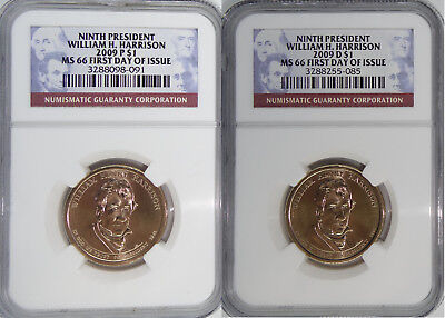 2009 Annual P /& D Presidential 8-Coin Set MS66 First Day of Issue