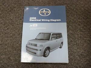 2006 Scion xB Wagon Shop Service Electrical Wiring Diagram ...