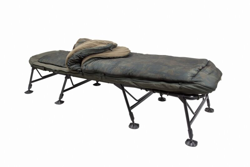 Nash Indulgence Sleep System Bedchair   SS3 SS4 4 or 5 Season Wide Emperor