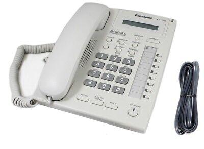 panasonic kx t7665 business phone white t7665al no stand for kx rh ebay com panasonic kx-t7665 manual user guide User Guide Icon