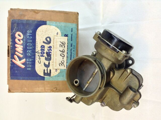 Ford ECG 6 Holley Rebuilt Carburetor 272 292 312 H *