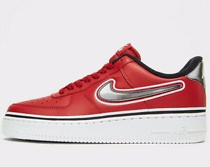 Nike Air Force 1 Low 07 Black Varsity Red Available
