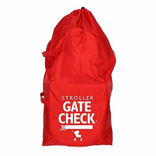NEW Gate Check Travel Bag For Standard and Double Strollers Red