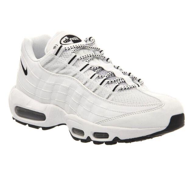 21c94e4b Nike Air Max 95 Mens Running Shoes 2016 Run White 609048-109 13 for ...