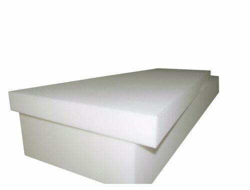 "1536 FOAM SEAT CUSHION MEDIUM FIRM High Density-Foam Slabs 5/""x27/""x80/"""