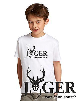 Reh Shirt Jagd Jäger Geometrie Textildruck fair Geschenk Dreieck T-Shirt dbs96