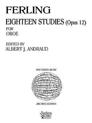 Symbol Of The Brand Eighteen Studies Op 12 Unaccompanied Oboe New 003770916 Musical Instruments & Gear Wind & Woodwinds