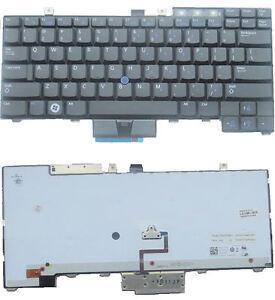 OEM Dell Latitude E6410 E6510 Backlit Keyboard WX4JF
