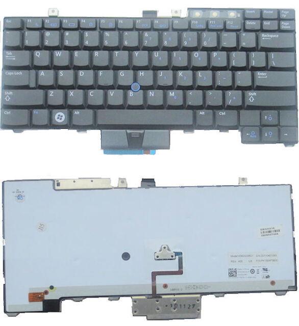 Genuine Dell Latitude Precision Backlit US Keyboard HT514 0HT514
