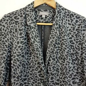 SUSSAN-Womens-Print-Jersey-Blazer-Jacket-Size-S-or-AU-10