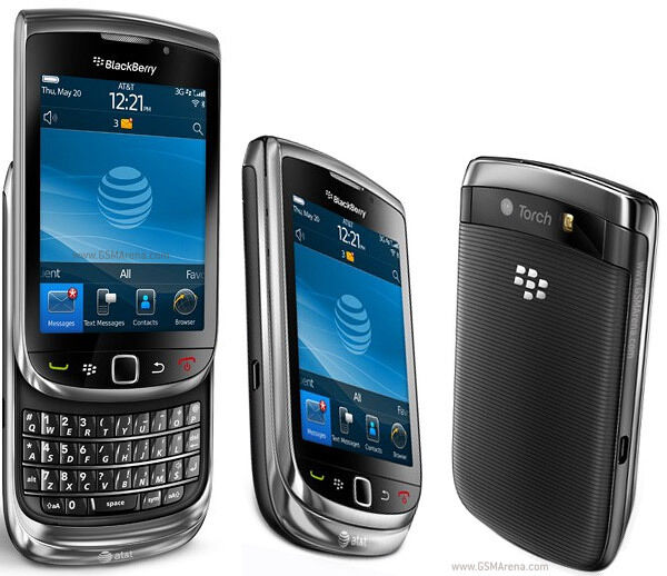 BlackBerry Torch 9800 - (AT&T/Unlocked) 4GB Smartphone Slide QWERTY Keyboard