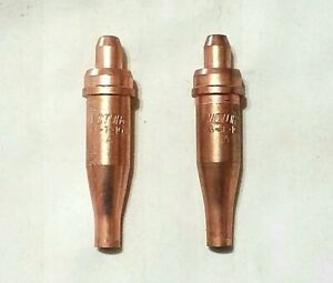 Oxy//Acetylene tip 5 Victor style cutting tips 1-101 series size 0 0-1-101