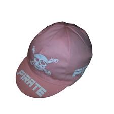 Pirate RennRadCap Pink, Totenkopf, Skull, Gothic, Pirat