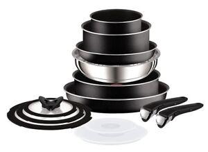 Tefal Ingenio Essential Non Stick Saucepan Set 13 Pieces