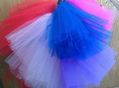 GIRLS /WOMEN's TUTU SKIRT DISCO -FANCY-DRESS-HEN PARTY-80'S-90'S ADULT Fashion