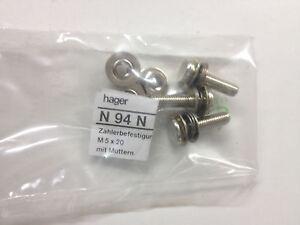 Hager-N94N-Zaehlerbefestigungsschrauben