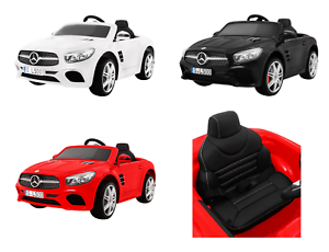 Image Is Loading Mercedes Sl500 2x12v Ride On Electric Car Leather