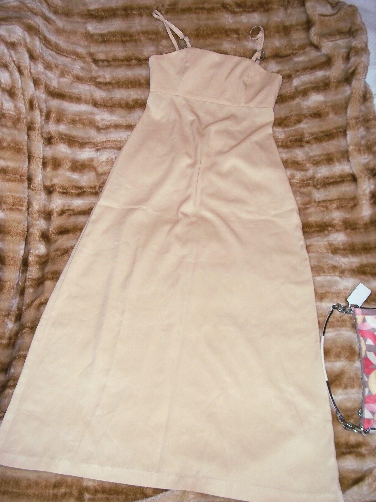 Henry Natural Long Maxi dress Sz 7