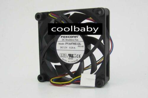 FOXCONN PVA070E12L Graphics card cooling fan DC12V  0.20A 4Pi n 5pcs