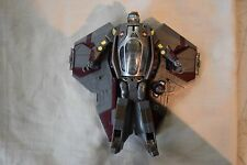 2005 Hasbro Star Wars Obi Wan Kenobi Jedi Star Fighter Transformer SW-361