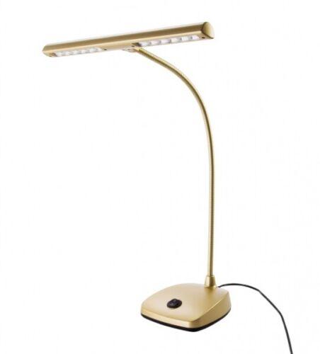 K/&M 12297 LED Pianoleuchte Gold