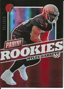 Myles Garrett Cleveland Browns 2017 Panini National Rookies Football #281/399
