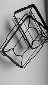 Bases support en fer avec anses rabattables. Vintage, années '40-50