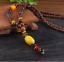 Lange-Halskette-Nepal-Boho-Anhaenger-Retro-Vintage-Holz-Handgefertigt-Perlen Indexbild 21