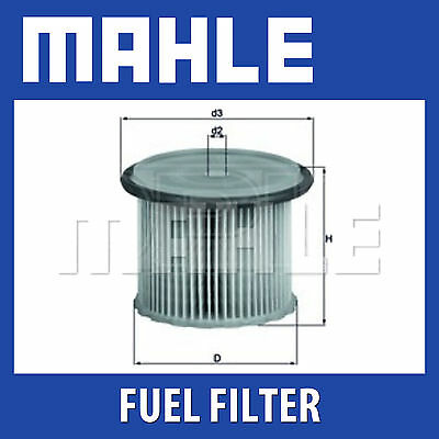 Mahle Fuel Filter KX85D Fits Citroen Peugeot Genuine Part