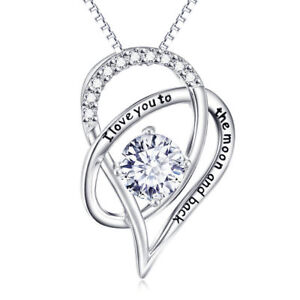 I-Love-You-to-the-Moon-Et-Arriere-collier-COEUR-Made-with-Swarovski-crystals-18-034