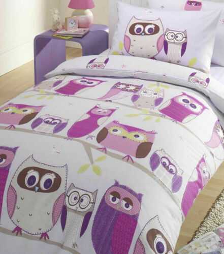 Hoot Owl Bedding Single Duvet
