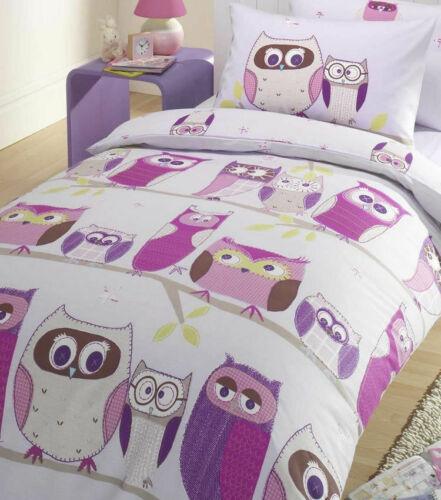 Hoot Owl Bedding Single Duvet