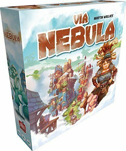 Via Nebula Board Game NEW FACTORY SEALED Martin Wallace New in Box 2-4 joueurs