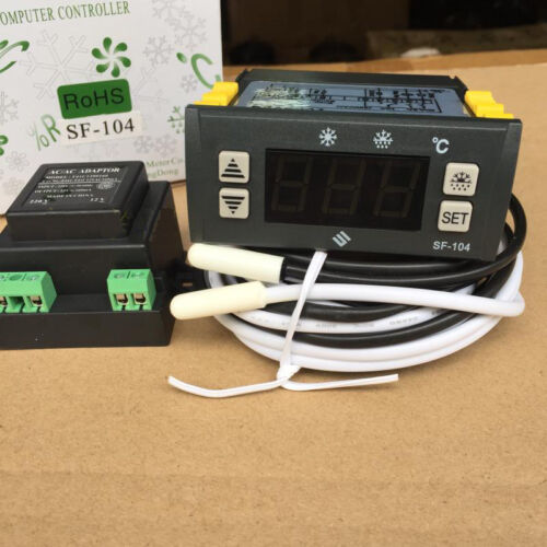 Digital display temperature controller Electronic temperature regulator Thermost