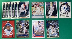 Lot of Sammy Sosa baseball cards, Topps, Fleer, Upper Deck,  13 cards